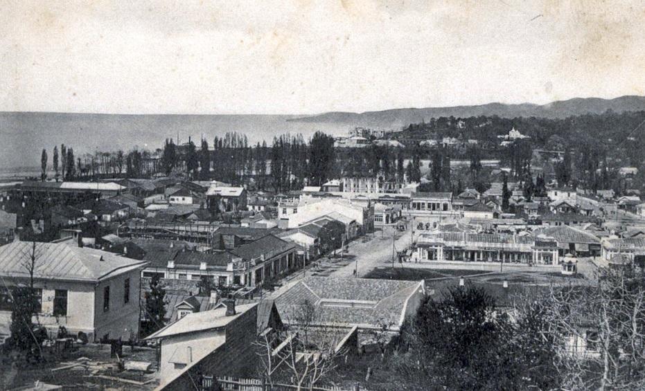 Так выглядел курорт в начале XX века