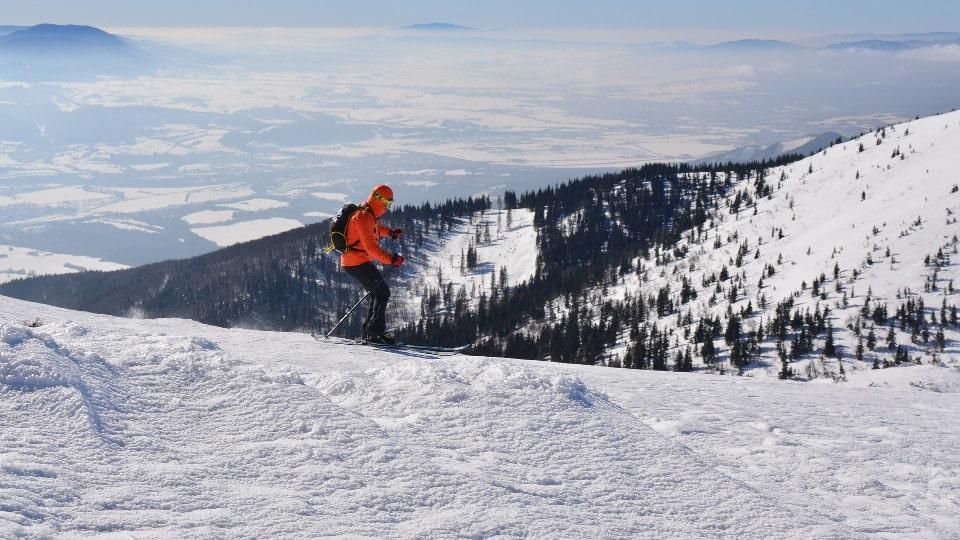 В Южно-Сахалинске можно покататься на горных лыжах