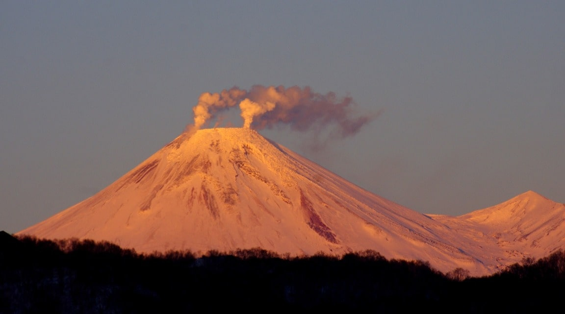 Камчатка – территория вулканов