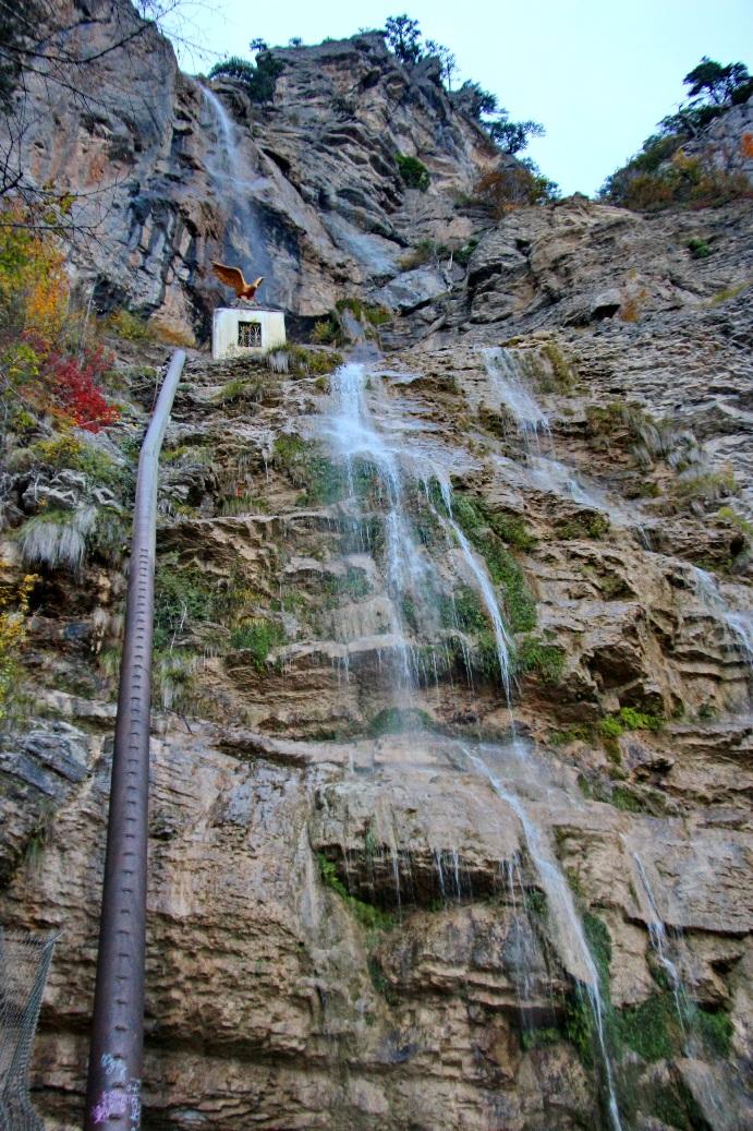 Поток Учан-Су состоит из двух каскадов
