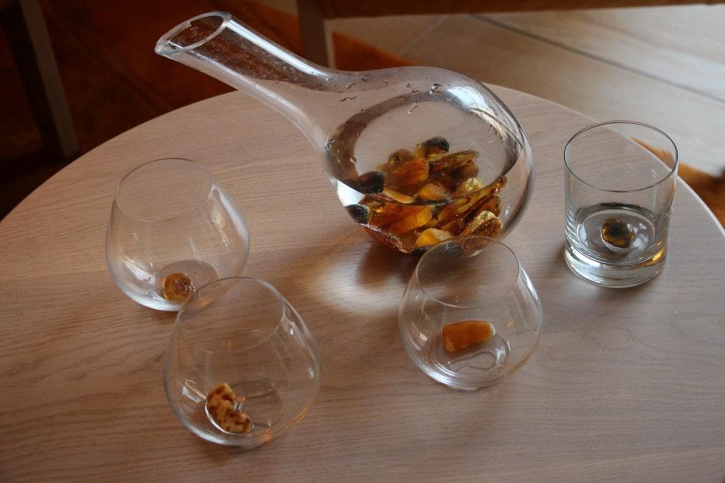 Целебный напиток из янтаря