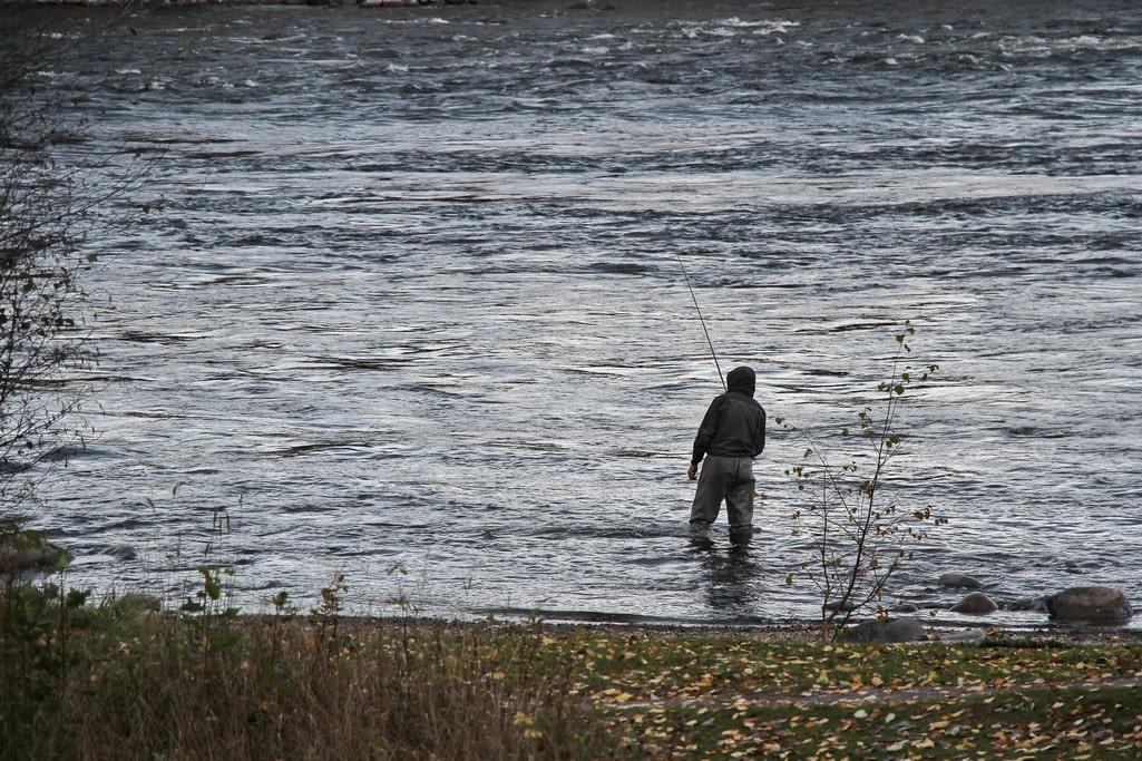 Рыбалка на Керети