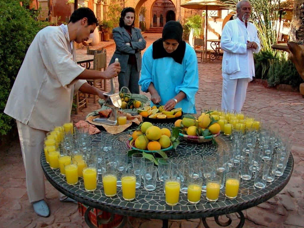 Апельсины и мандарины – национальное достояние Марокко
