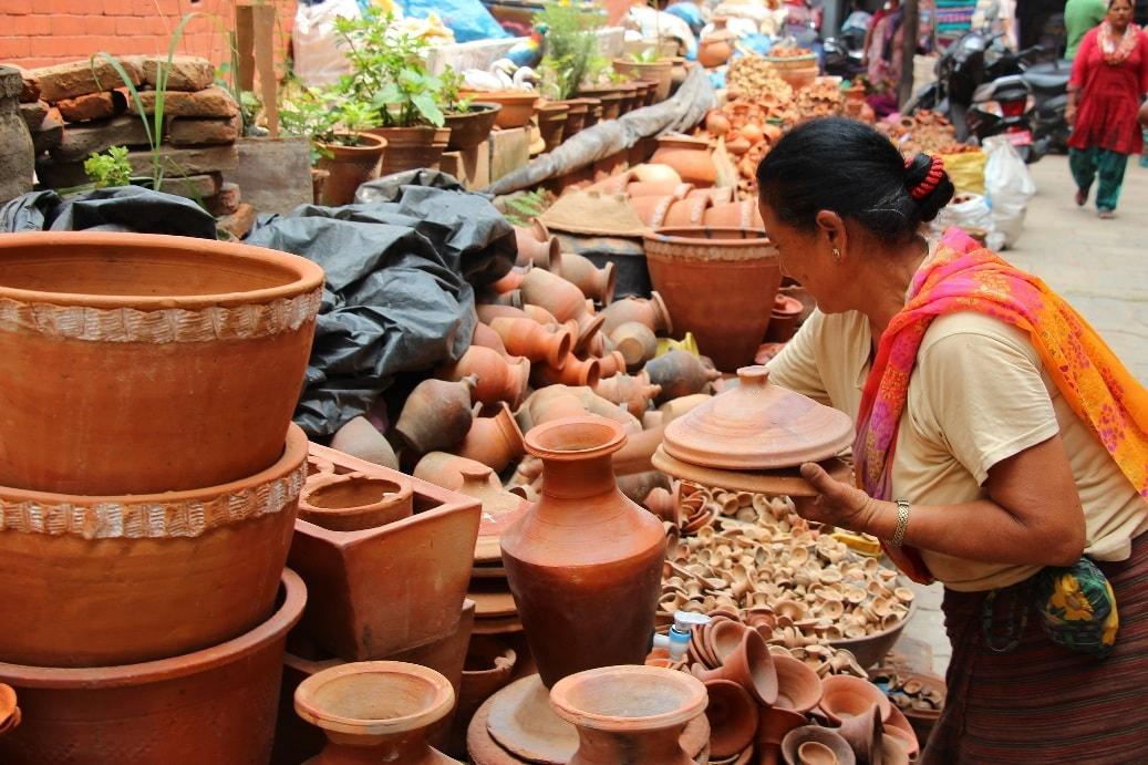 Город является центром гончарного искусства