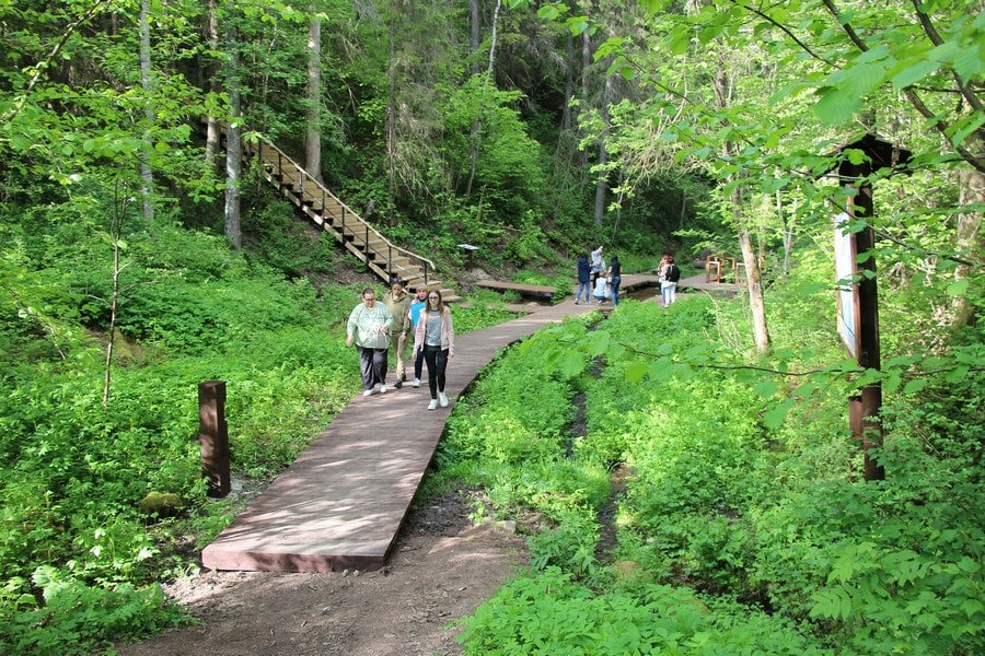Экологическая тропа «Радоновые источники и озера у деревни Лопухинка»