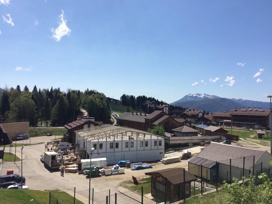 Олимпиада круто изменила судьбу небольшого горного поселка