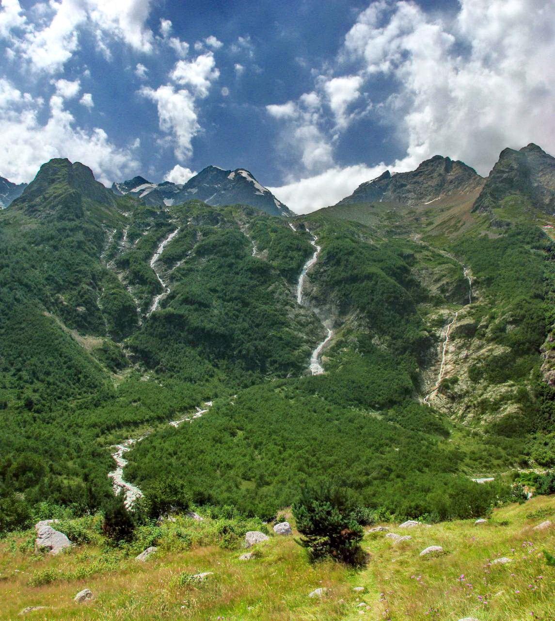 Дигорские водопады
