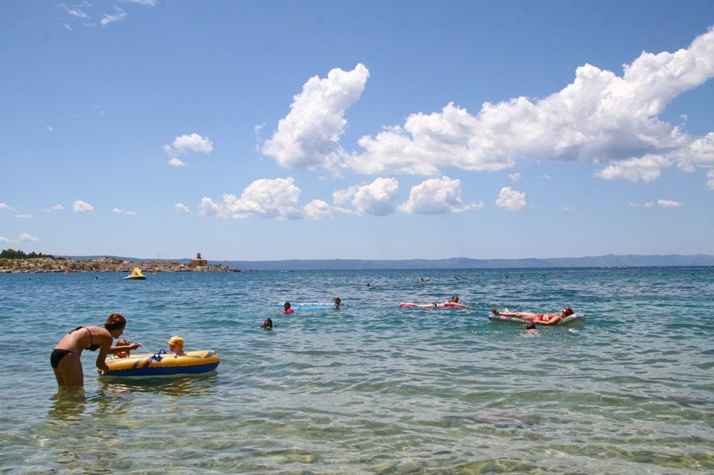 В Симеизе есть несколько мест пляжного отдыха
