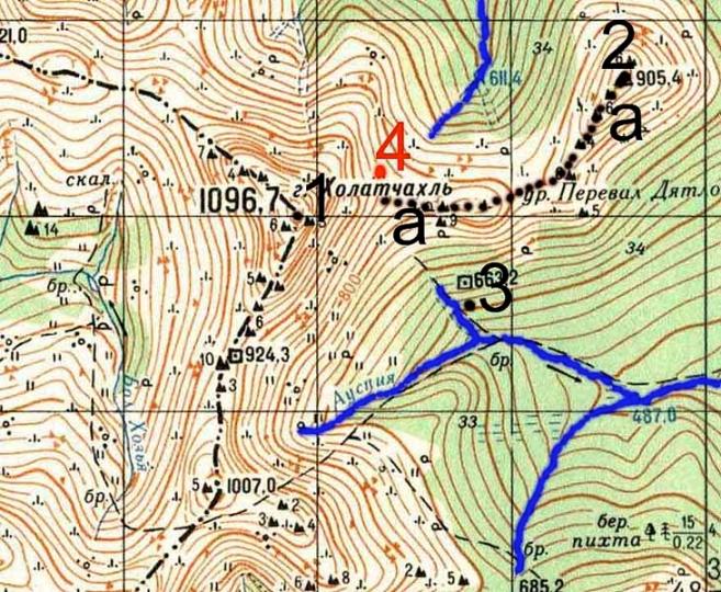 Холатчахль – Гора мертвецов