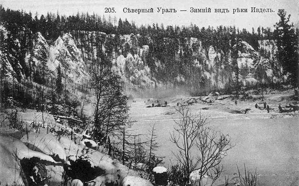 За сто лет берега реки совершенно не изменились