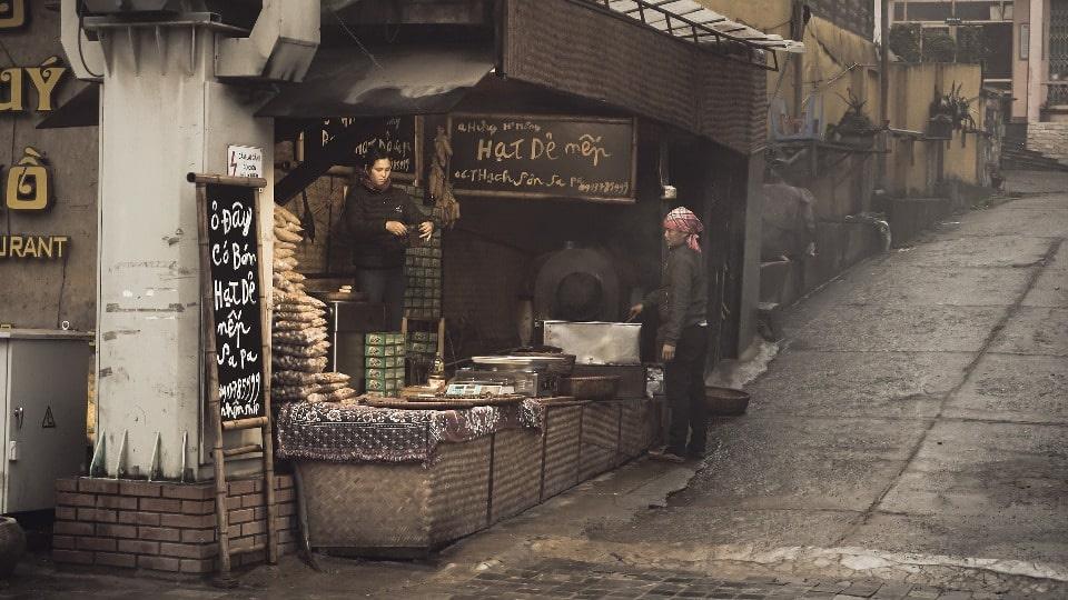 Старый квартал Сапы