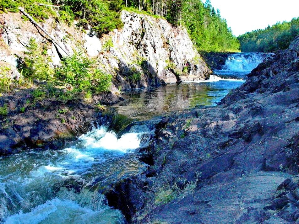 Водопад Кивач на реке Суна