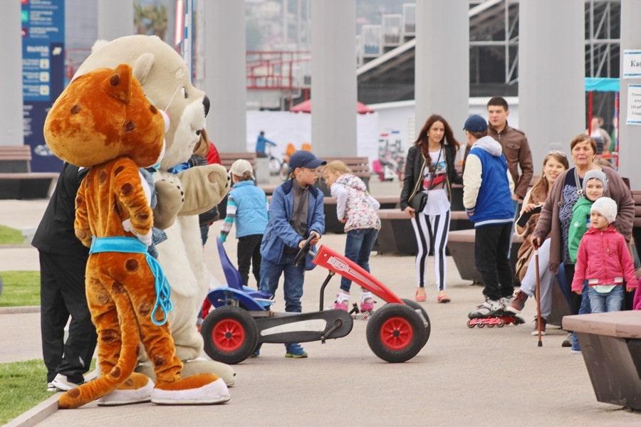 Олимпийский парк стал популярным местом отдыха