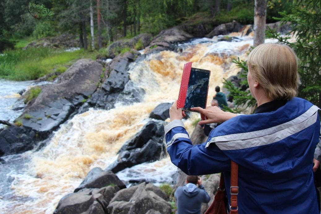 Рускеальский водопад
