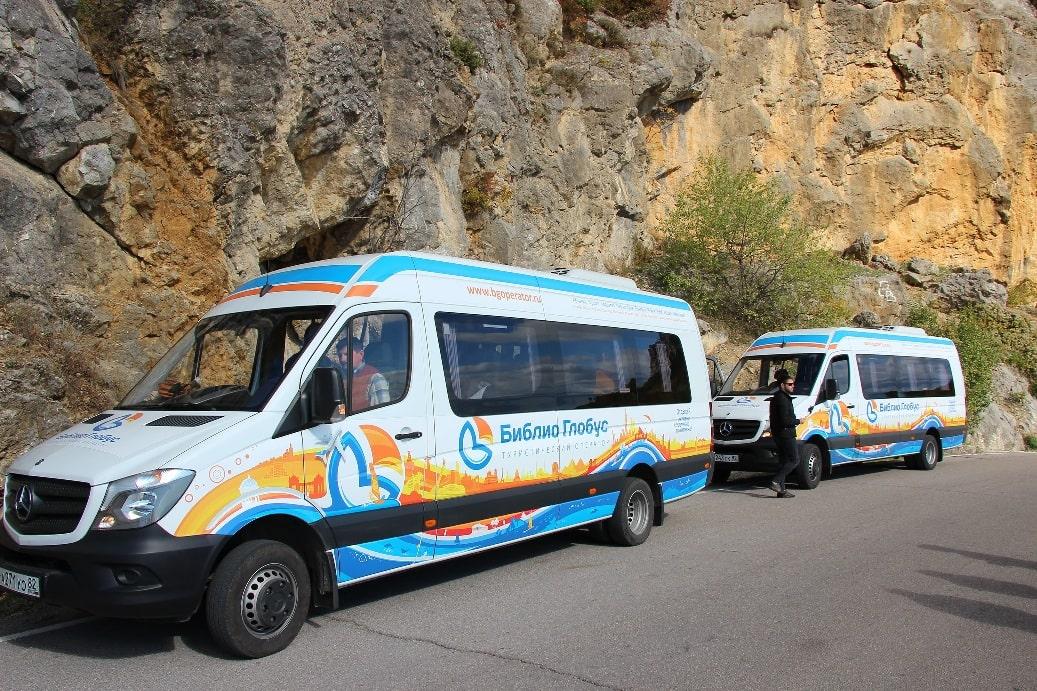 Из прибрежных городов в Эски-Кермен организуют экскурсии