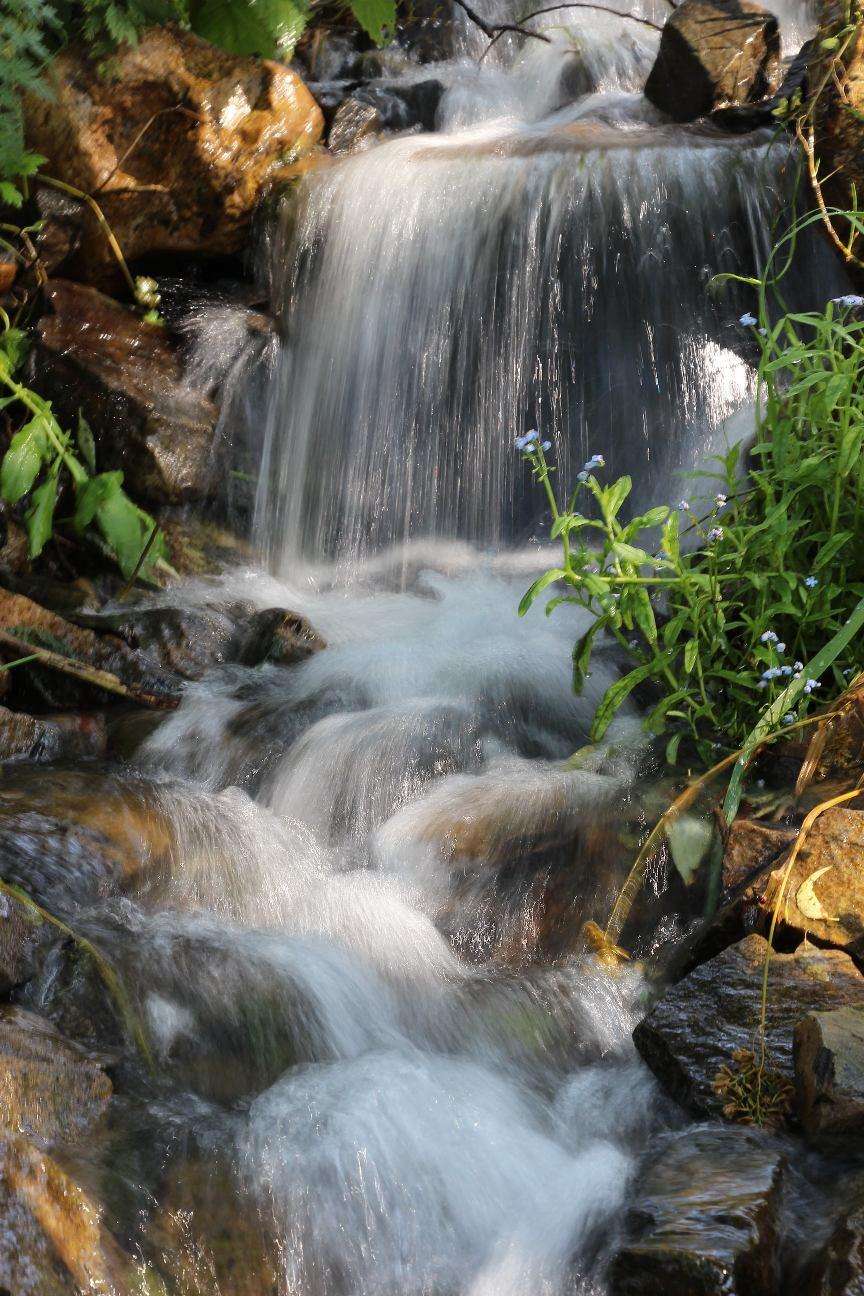 Горный поток – точка релакса и медитации