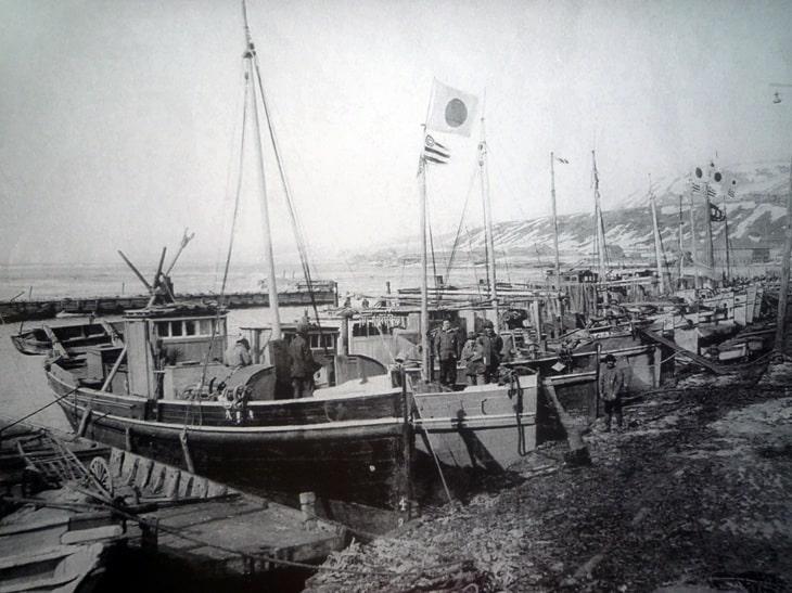 порт Мауки. 1930-е гг.