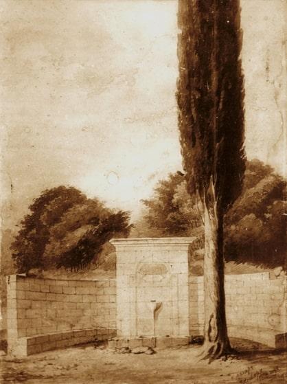 Так Кутузовский фонтан выглядел изначально