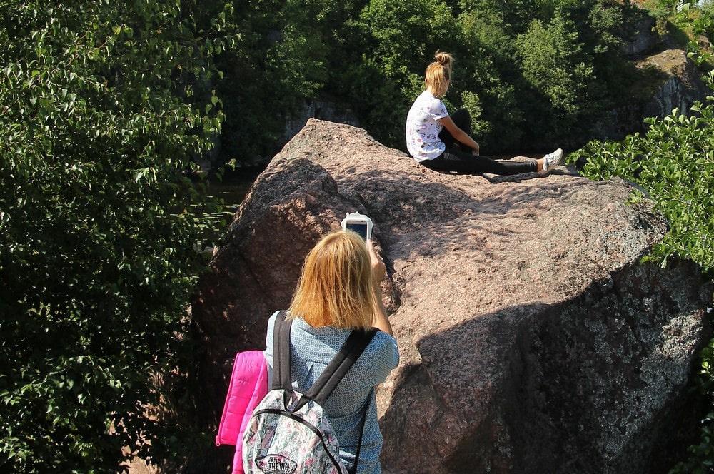 Нуорунен – отличное место для фотосессий
