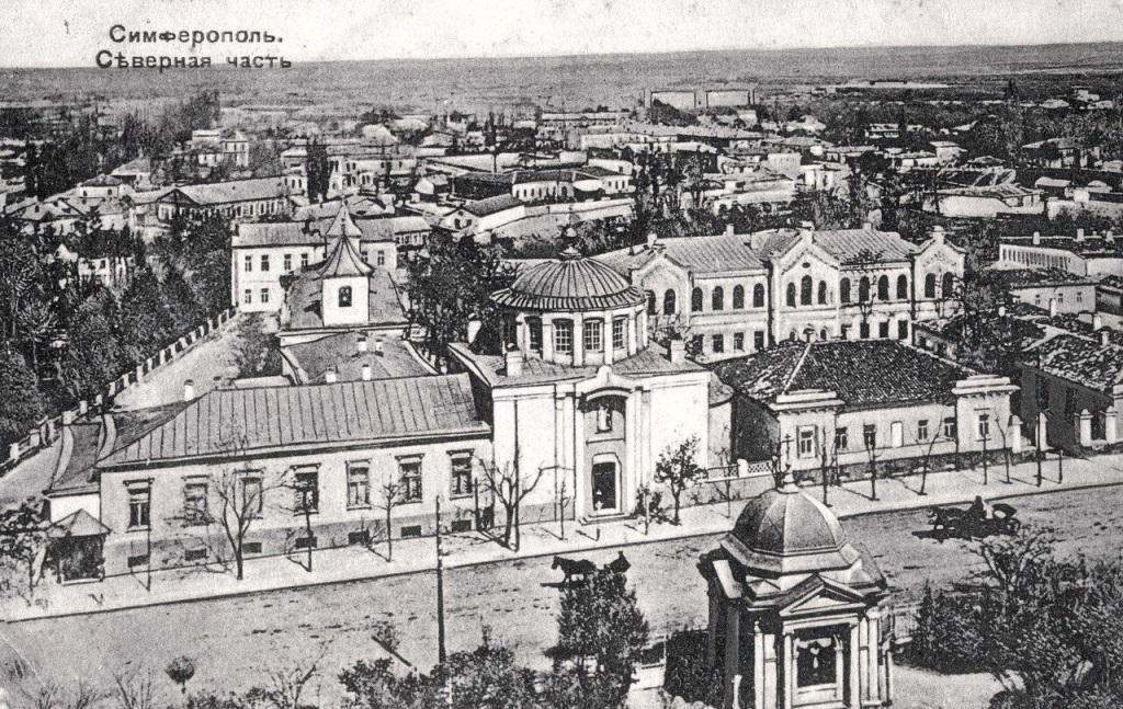 Так выглядел Симферополь в XIX веке