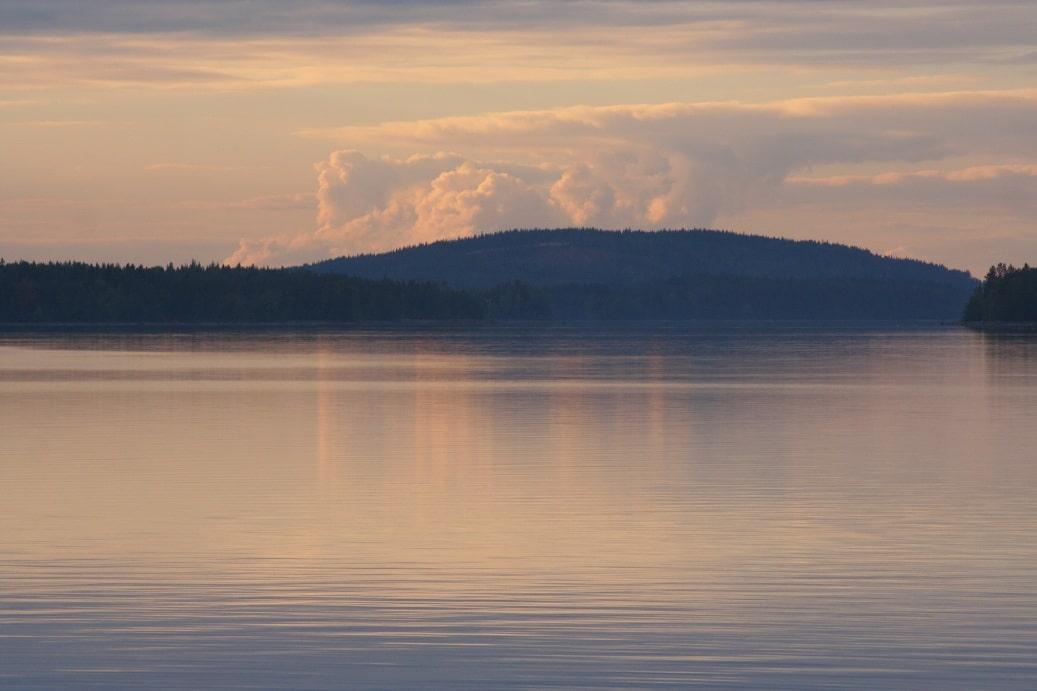 Закат над Ловозером