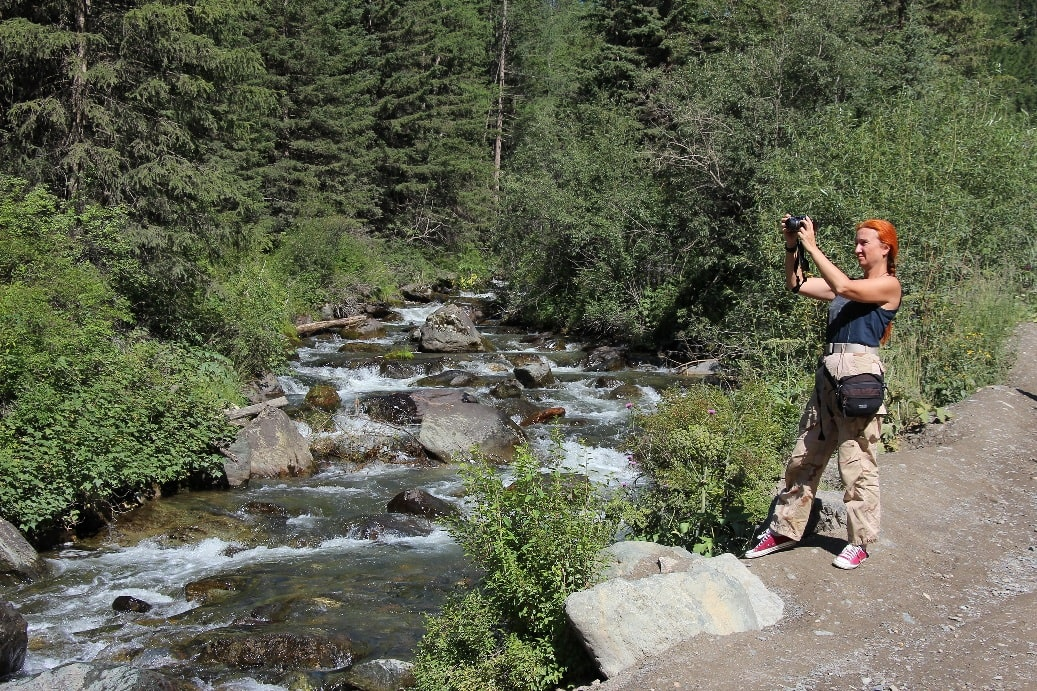 Местные реки отличаются норовистым нравом