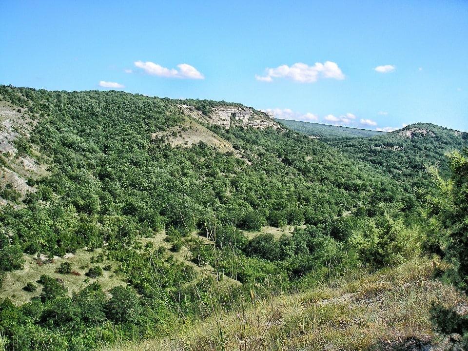Яйла представляет собой гору с плоской вершиной