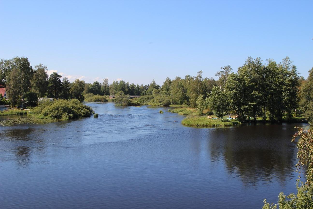 Приозерск со всех сторон окружен водой