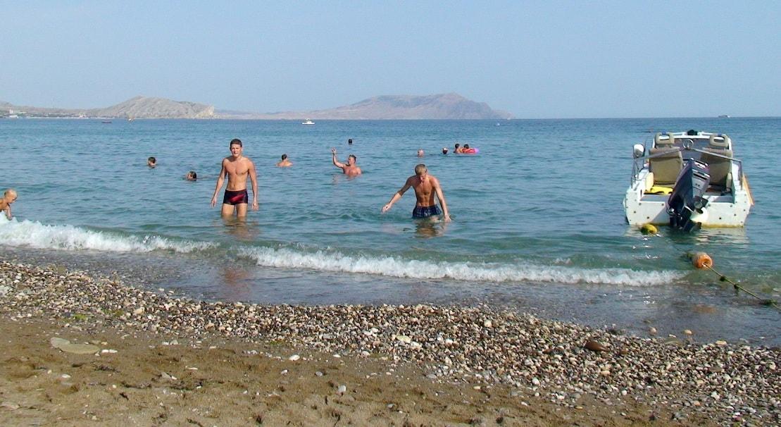 Пляж в Новом Свете