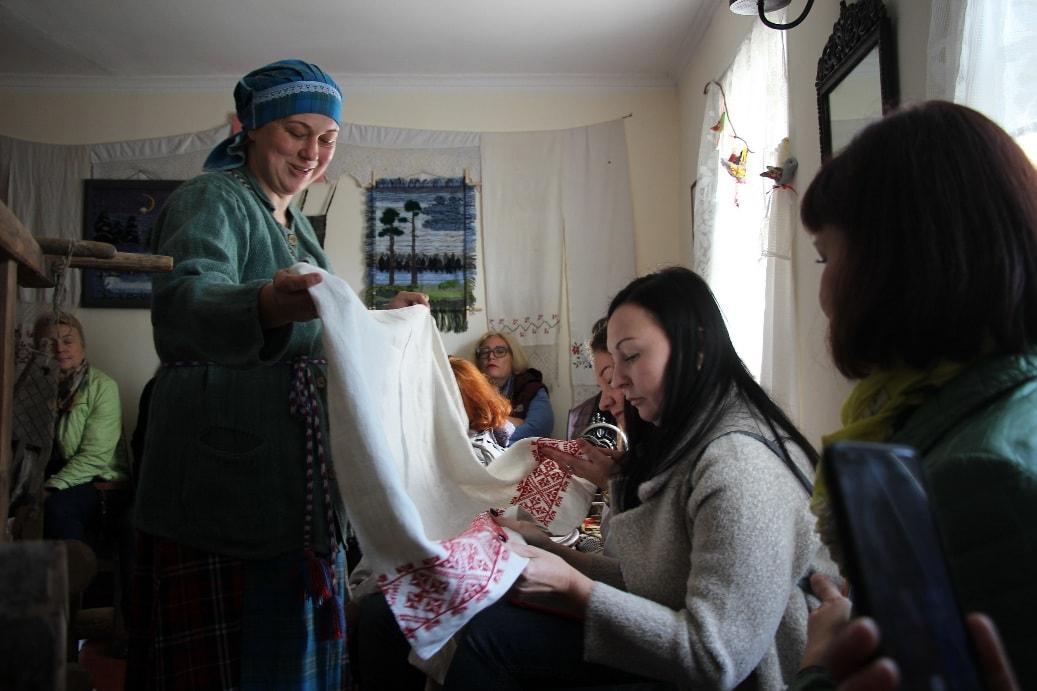 Для гостей организуют мастер-классы по рукоделию