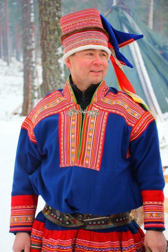 Саамский национальный костюм