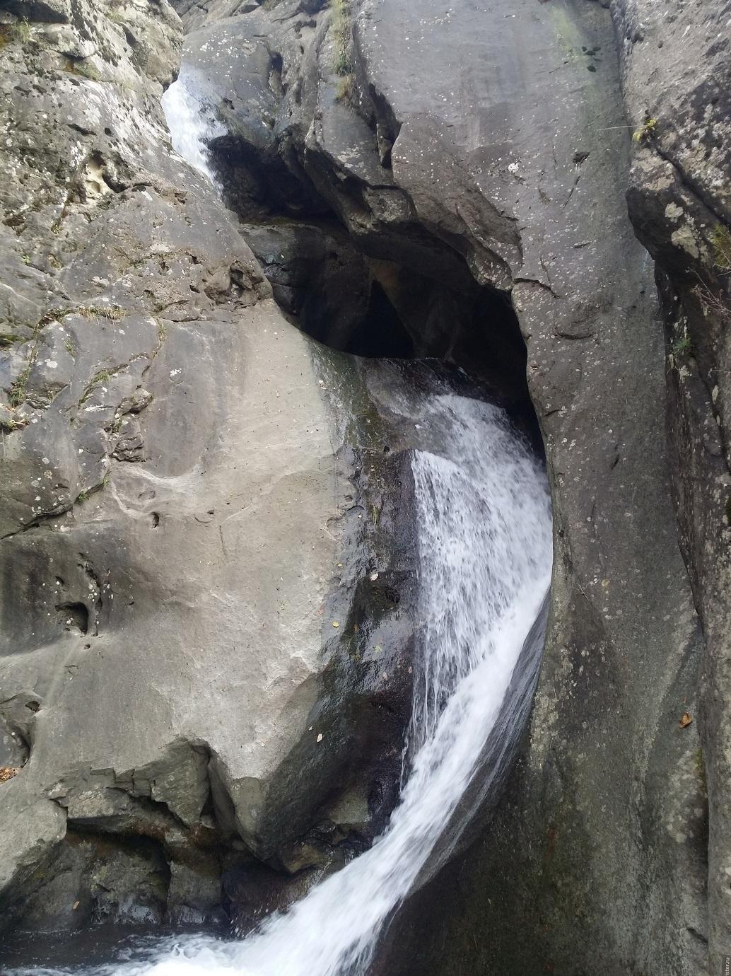 Водопад Шпичатском потоке