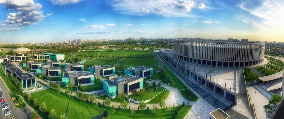 Современная архитектура Краснодара