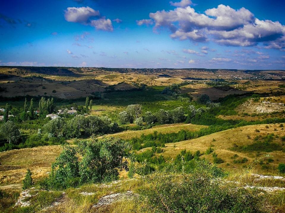 Протяженность долины достигает 5 км