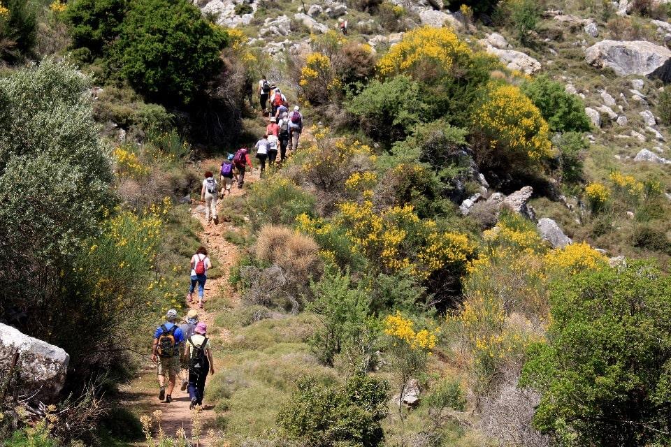 По урочищу проходят популярные туристские маршруты