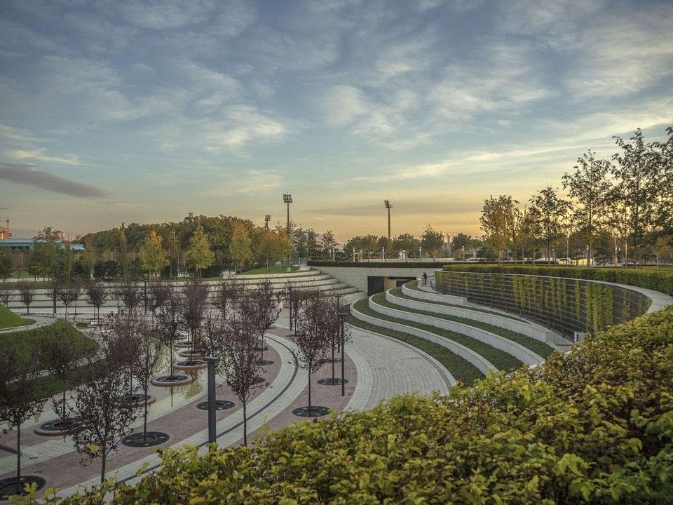Краснодар очень зеленый город