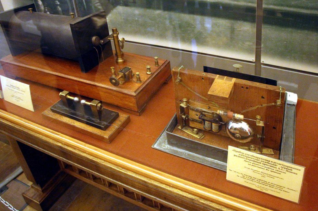 Первая радиостанция Попова