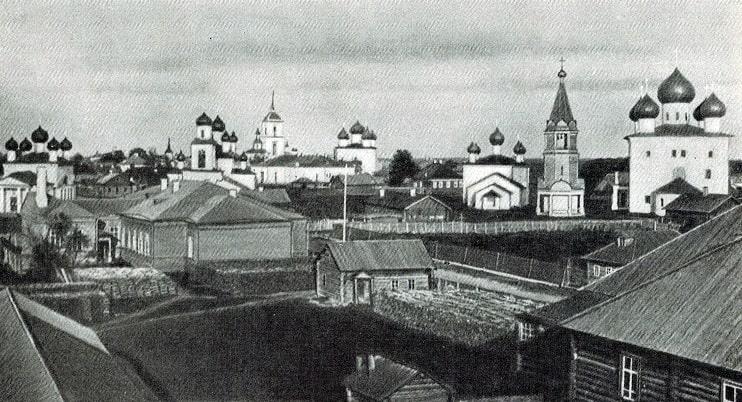 Дореволюционный Каргополь
