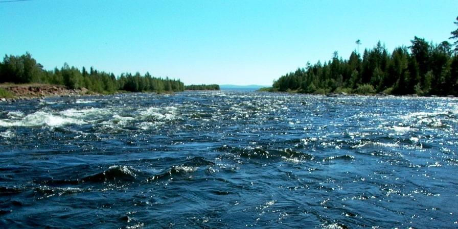 Реки русского Севера имеют норовистый характер