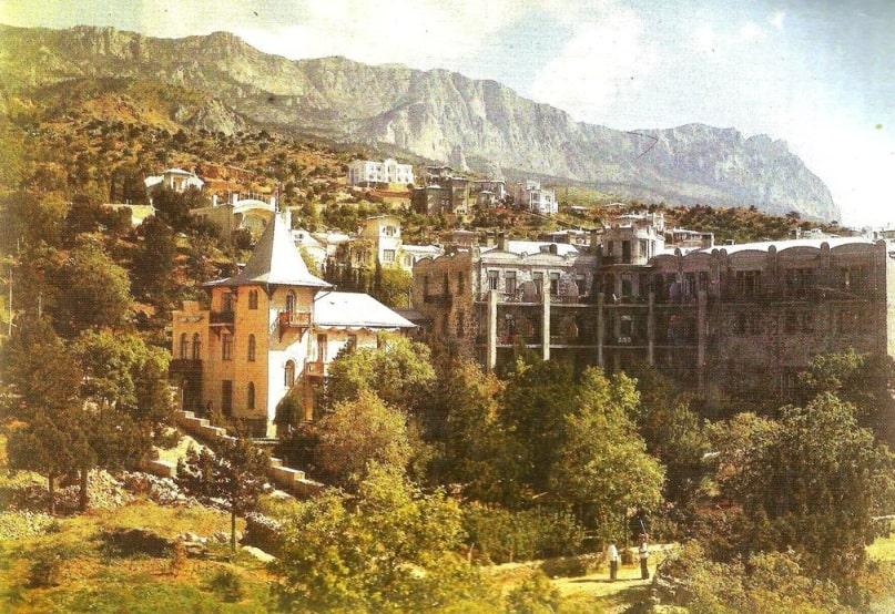 Вилла «Хризолит» (вилла Лансере в Симеизе) Л.В. Рейнберг, фото 1914