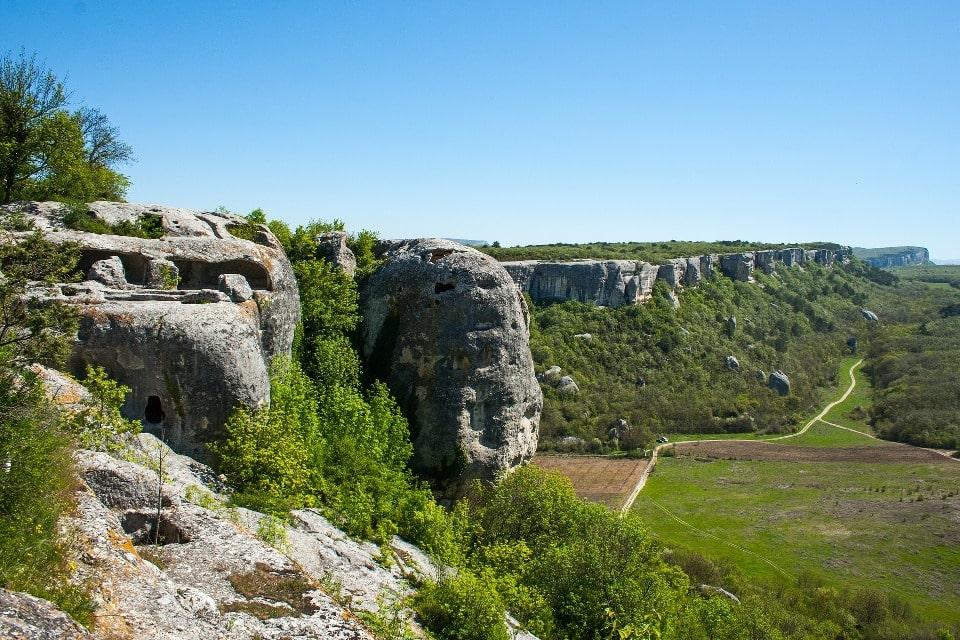 Пещерный город Эски-Кермен
