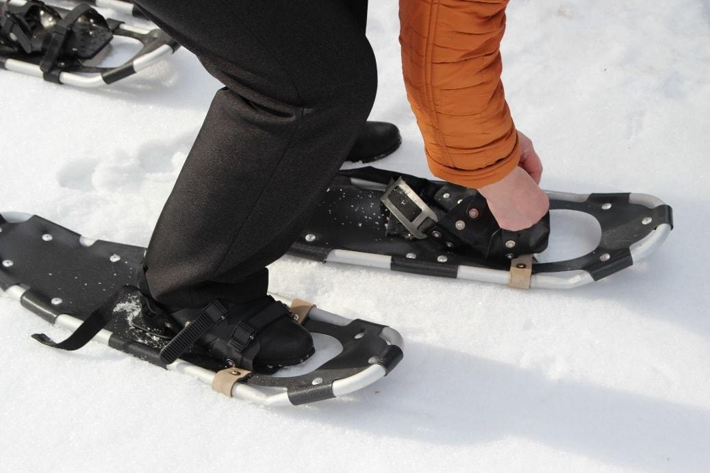 В поход на снегоступах
