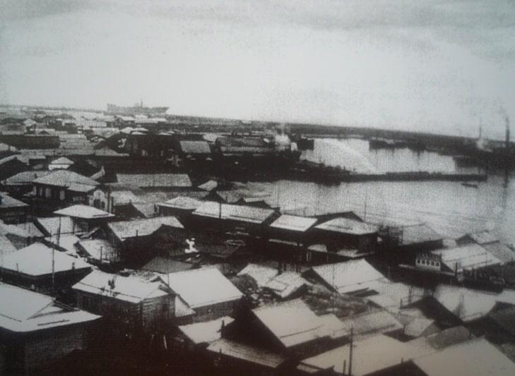 Центр города. 1940-е гг.