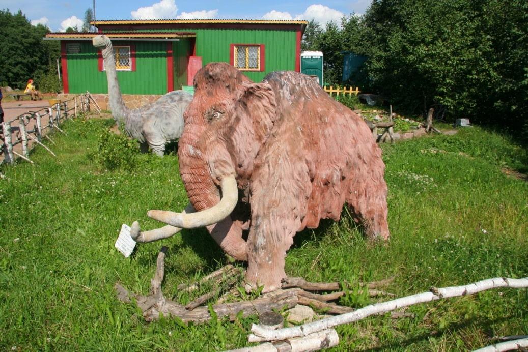 Парк доисторических животных