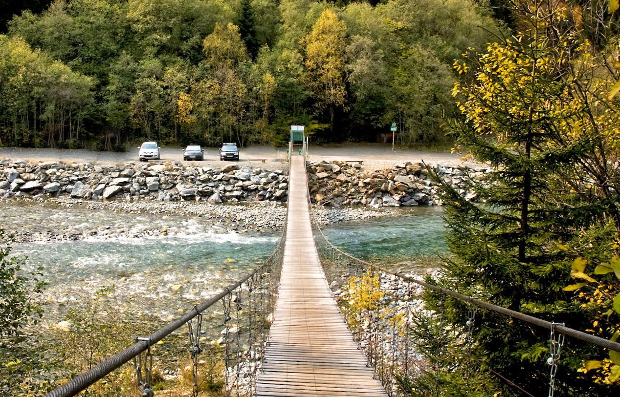 Мост через Теберду