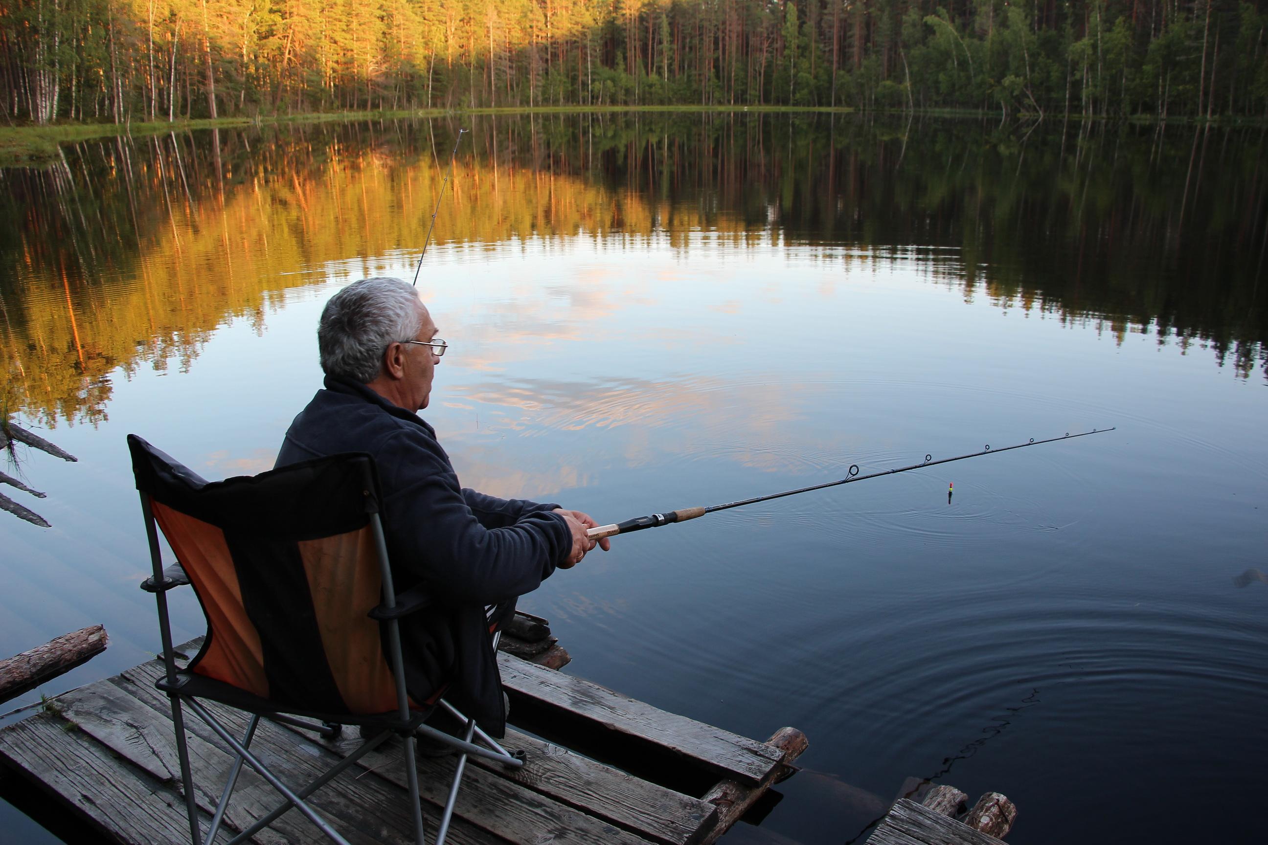 На Вуоксе отличная рыбалкам