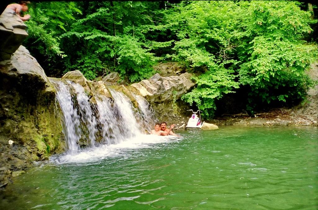 Чаши Пшадских водопадов – идеальное место для купания