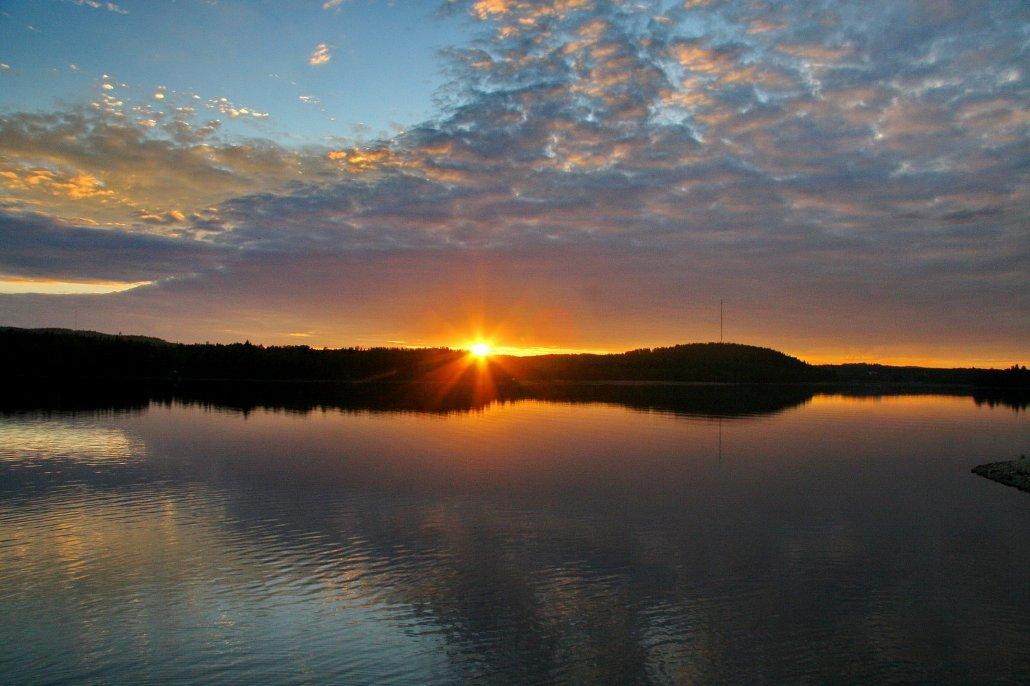 Вечерняя магия озерного края