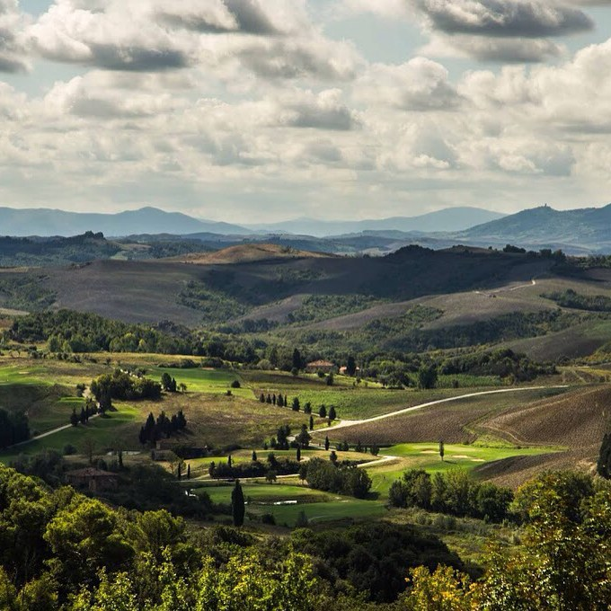 Холмы Тосканы