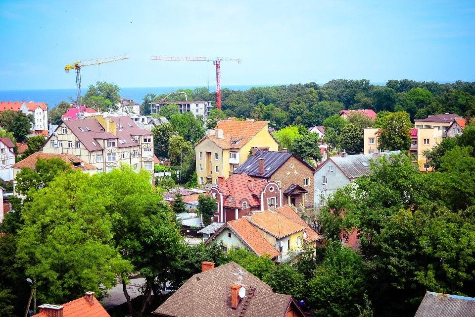 В Калининградском регионе везде чувствуется влияние немецкой архитектуры